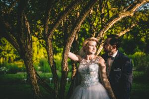 sesja ślubna ogród botaniczny lublin